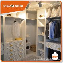 Modernes Schlafzimmer weiß und braun Kleiderschrank Designs