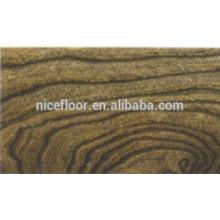 Natural Revestimento de madeira multi-camada ELM piso de madeira projetada
