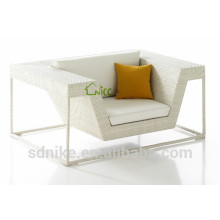 SS-(103) outdoor synthetic rattan leisure patio furniture single sofa