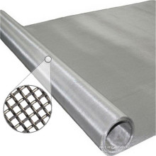 Pantalla de malla de acero inoxidable de la armadura lisa 304 316 (SSMS)