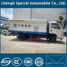 Camion de balayeuse de rue de l'assurance de la qualité 4X2 de camion de Cn nouveau camion de balayeuse