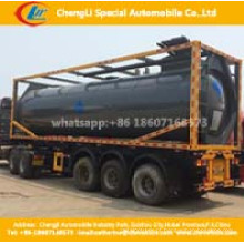 Asme 20FT Contentor Tanque 60000liters ISO LPG Contentor Tanque de Armazenagem