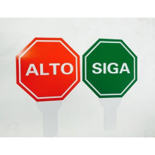 Auto Solar Road Traffic Sign, Customzied Sizes and Colors