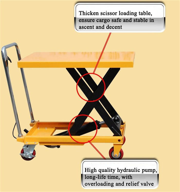 Lift Table Trolley