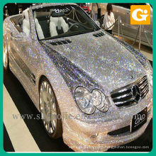 custome Digital Printing Glittering Vehicle Sticker