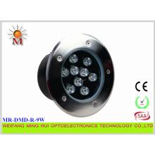 Lumière sous-marine multi de couleur de 9W LED IP68