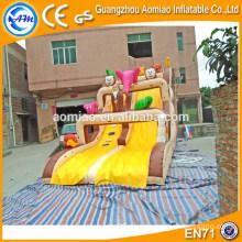 2016 Diapositiva inflable de la diversión barata / diapositiva seca inflable / diapositiva inflable gigante de China para la venta