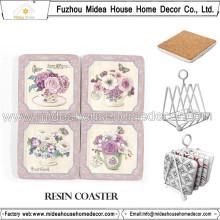 OEM / ODM Бланк Пробка Coaster, Сова Дизайн напитков Coasters