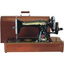Máquina de costura doméstica ja-2-2 para bordados e tecidos pesados