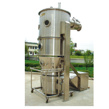 Turbojet Fluid Bed Pengeringan Granulator Coating Machine