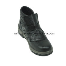 Professional MID-Cut Full Leather Safety Shoe for Welders (HQ05049)