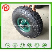10-дюймовый, 3,50-4, 4.10-4 Пневматические колеса, резиновые колеса использования для ручной тележки, корзины инструмент, вагонов, тележек