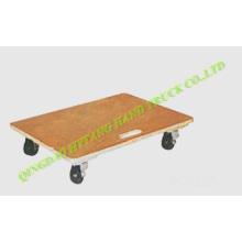 carro de madera Mover con 4 ruedas