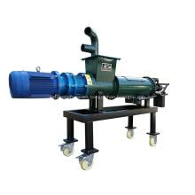 Máquina de deshidratación de estiércol de pollo o estiércol de vaca