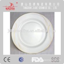 Venta al por mayor cerámica blanca placa de la placa de cerámica placa de cerámica