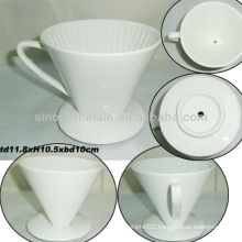 4.6inch Ceramic Coffee Filter Mug For BS130521B
