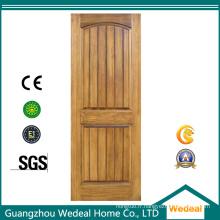 Porte extérieure / extérieure en bois massif avec quincaillerie