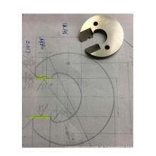 Usinagem cnc de precisão de peças de molde de aço inoxidável