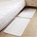 100% Baumwolle 21s Jacquard-Fußboden-Tücher preiswerter Großhandelshotel-Bad-Matte