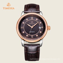 Luxury Watch Brand Steel Case Leather Band Men Watch Automatic72001