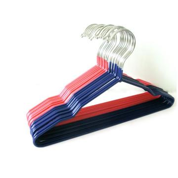 PVC-beschichtetes Metall Kleiderbügel Kleiderbügel für Kinder