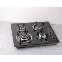 Construído em fogão a gás com 4 Sabaf Burners