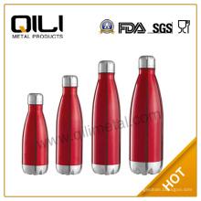 Hohe Qualität und günstiger multicolor Edelstahl Wasser Colaflasche