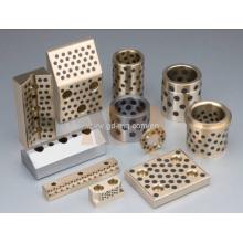 Plaque d'usure en laiton résistante à la chaleur et anti-corrosive (MQ2127)