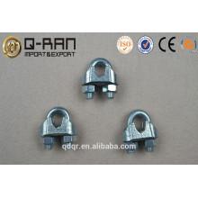 Zinc plaqué US Type malléable câble Clip - Rigging Hardware