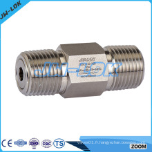 Clapet anti-retour en acier inoxydable 316 haute qualité
