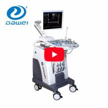 DW-C80 dispositivo médico 3 sondas carrinho de cor doppler ultra-som preço da máquina