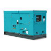 200kw super silenciosa silenciador de gas a prueba de sonido conjunto de generadores