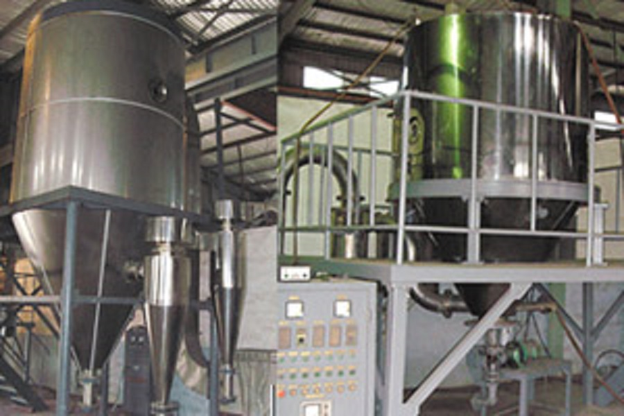 High Speed Centrifugal Phenol Formaldehyde Resin Spray Dryer