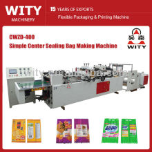 CWZD-400 simple centra sealing bag with gusset making machine