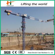 Guindaste de torre de fabricante ISO com alta eficiência