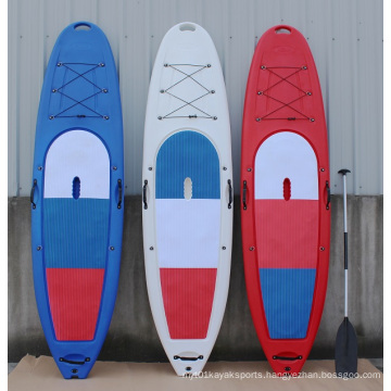 No Inflatable Plastic Sports Sup Stand up Paddle Board