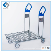 Hot Sale Heavy-Duty Compact Cargo Trolley for Transporting