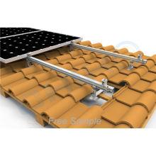 Easy Installation Aluminium Solar Structure Rail Solar Energy Roof Rail Solar Panel Rail