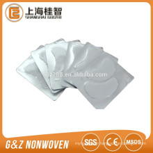 90% viscose et 10% polyester non-tissé spunlace rouleaux de tissu