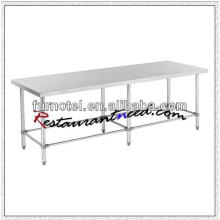 S015 Stainless Steel Working Bench With Stainless Steel 6 Legs