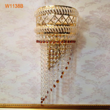 Wholesale Discount for Crystal Wall Light W1138B New ewest and best selling wall sconces, Wall light export to South Korea Suppliers