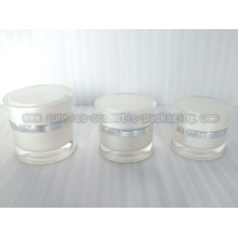 15ml 30ml 50ml branco radiano forma acrílica Gel frasco Skincare P