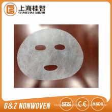 Transparenet tencel hojas de máscara facial invisible tencel máscara facial hoja de América tencel máscara facial