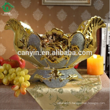 2015 new designed ceramic cheap Home decoration large fruit bowl
