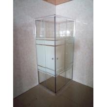 Gabinete de chuveiro de quadro de alumínio ajustável (E-07ABL)