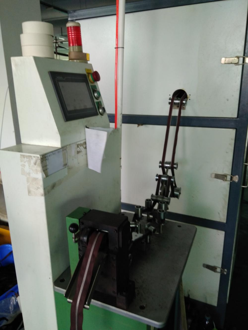 No.3 Y Teeth Metal Zipper Making Machine
