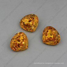 Yellow Strass Stones Jewelry Beads Alta calidad