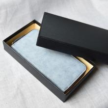 Handgemachte elegante Brieftasche Geschenkbox
