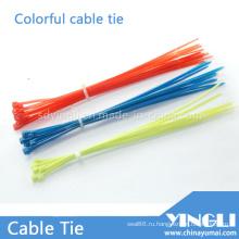 Красочные самоблокирующиеся нейлоновые кабельные стяжки