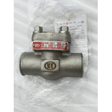 """Forged Steel F316L Class150 1"""" Lift Check Valve"""